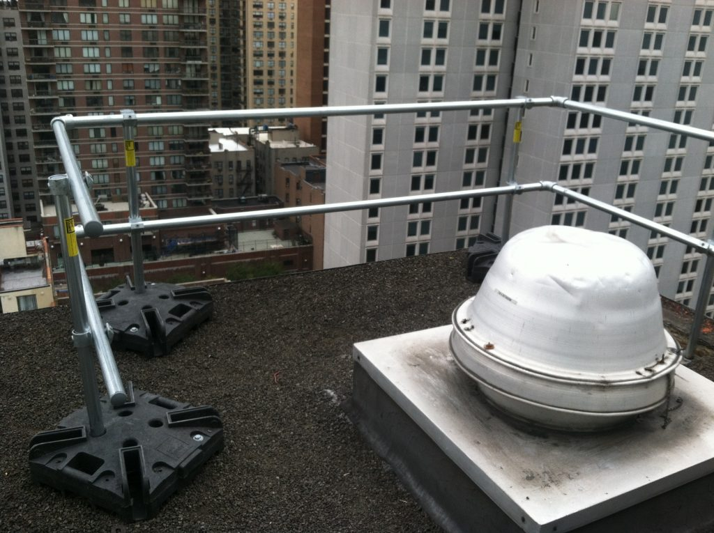 Rooftop Guardrail Systems Peak Fall Protection Inc